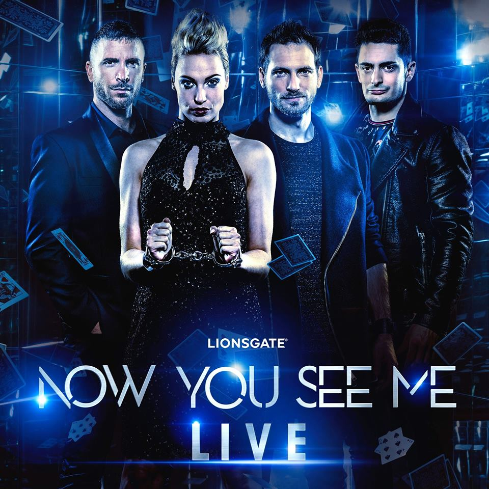 Now You See Me Live Sabine van Diemen